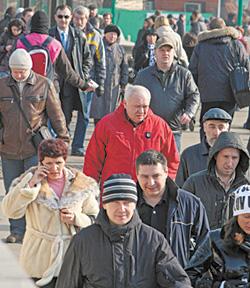 В странах бывшего СССР растет количество безработных